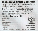 2335 C5 - This was going to be ignored before one of the cast names leapt out; Tim Minchin. This alone makes it worth a watch, despite the likelihood that it'll be a watered down version of Jerry Springer The Opera