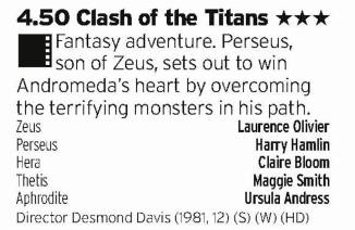 1650 - Five - Forget about the modern remake, this is only film where you need to see Titans clashing