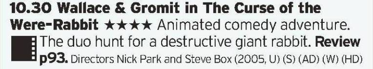 1030 - BBC1 - Aardman and Dreamworks ended up being a difficult fit, however at least we got a feature film version of Wallace and Gromit out of them