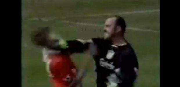 So brutal kann Fußball sein!!
