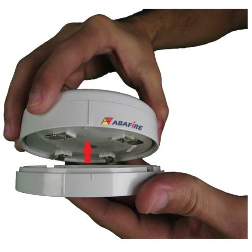 Detector de Fumaça Pontual Convencional com saída relé NA (Conventional Smoke Detector) código AFDF Imagem 04
