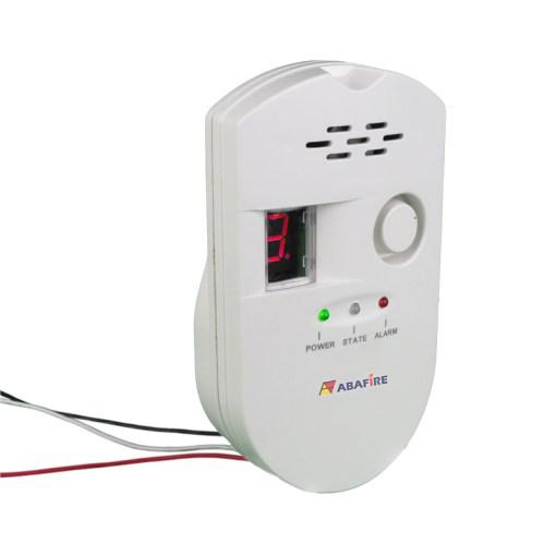 Detector Pontual de Vazamento de Gás de Cozinha - Gás GLP (Gás Liquefeito de Petróleo) ou Gás GN (Gás Natural) com Saída Relé NA/NF código AFDG2 - Imagem 04