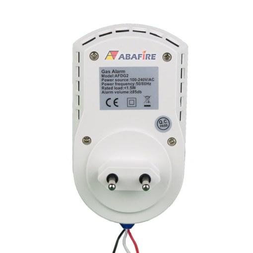 Detector Pontual de Vazamento de Gás de Cozinha - Gás GLP (Gás Liquefeito de Petróleo) ou Gás GN (Gás Natural) com Saída Relé NA/NF código AFDG2 - Imagem 03