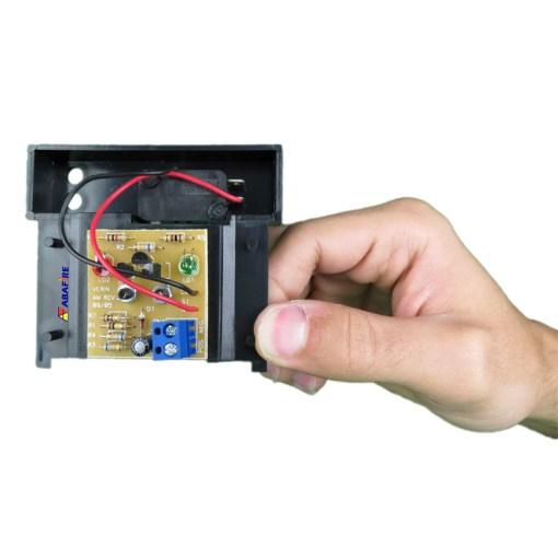 Botoeira e Acionador Manual Convencional (Convencional Call Point) código AFAM2. Ideal para Central de Alarme de Incêndio. Imagem 13