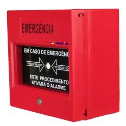 Botoeira e Acionador Manual Quebra Vidro com Relé NA/NF, código AFAM - Imagem 13