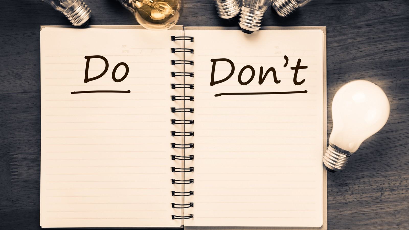 resume and cover letter do's and don'ts