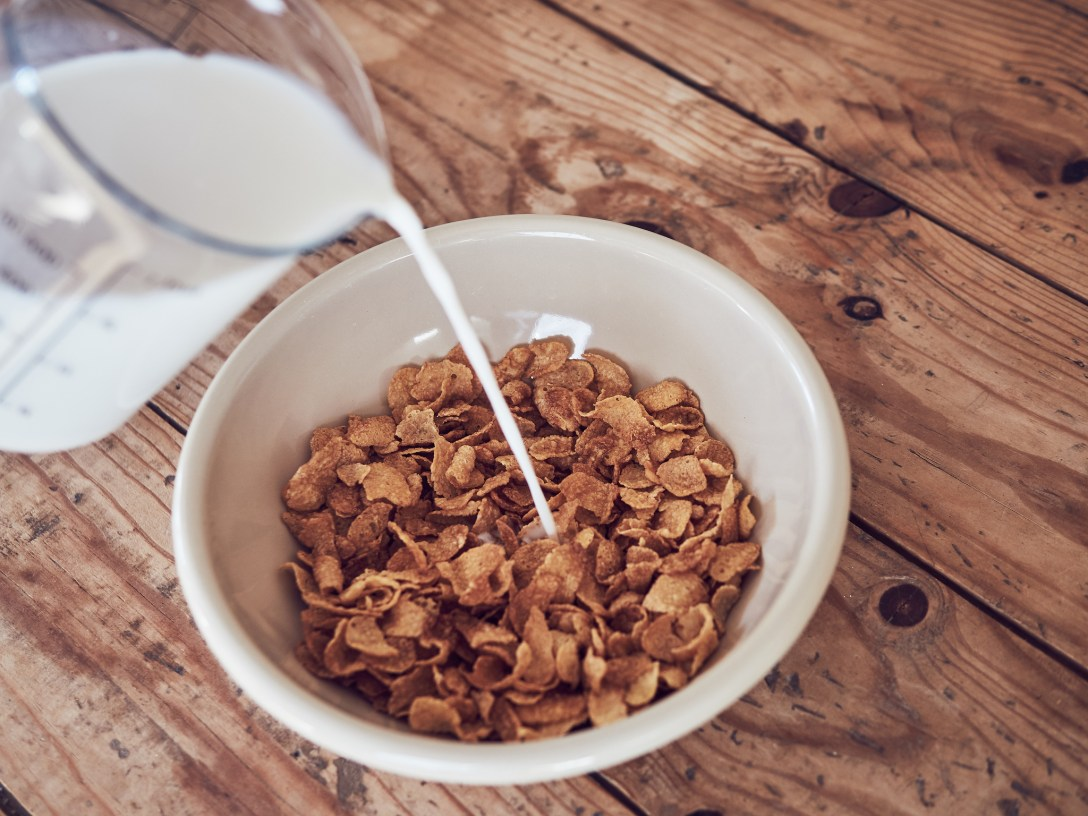 receta Cereal Milk
