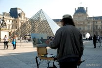 Louvre Pyramid, Louvre Palace, Paris (1)