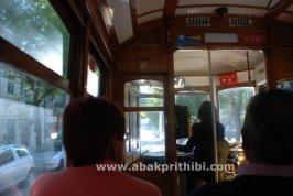 Vintage trams, Lisbon, Portugal (1)