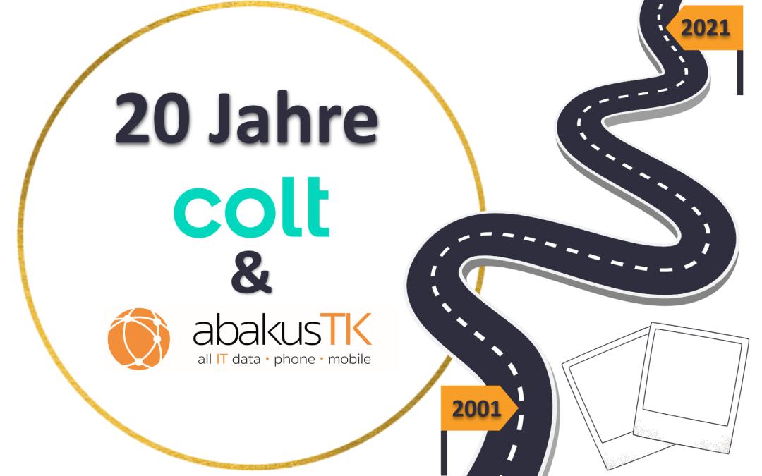 20 Jahre Partnerschaft – Colt und abakus TK