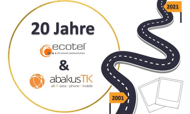 20 Jahre Partnerschaft – ecotel und abakus TK