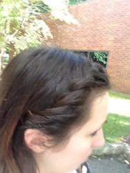 Original hair color: Dark brown