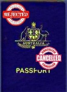 Australian Passport invalid