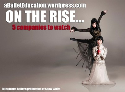 ballet companies on the rise