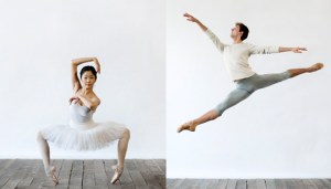 National Ballet of Canada's YOU Dance Apprentices . Miyoko Koyasu. Trygve Cumpston. Photos by Sian Richards.