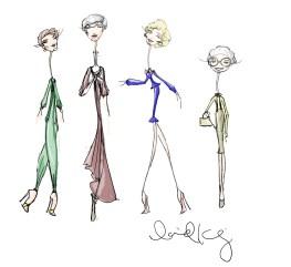 golden girls sketch