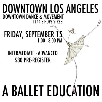 downtown los angeles ballet