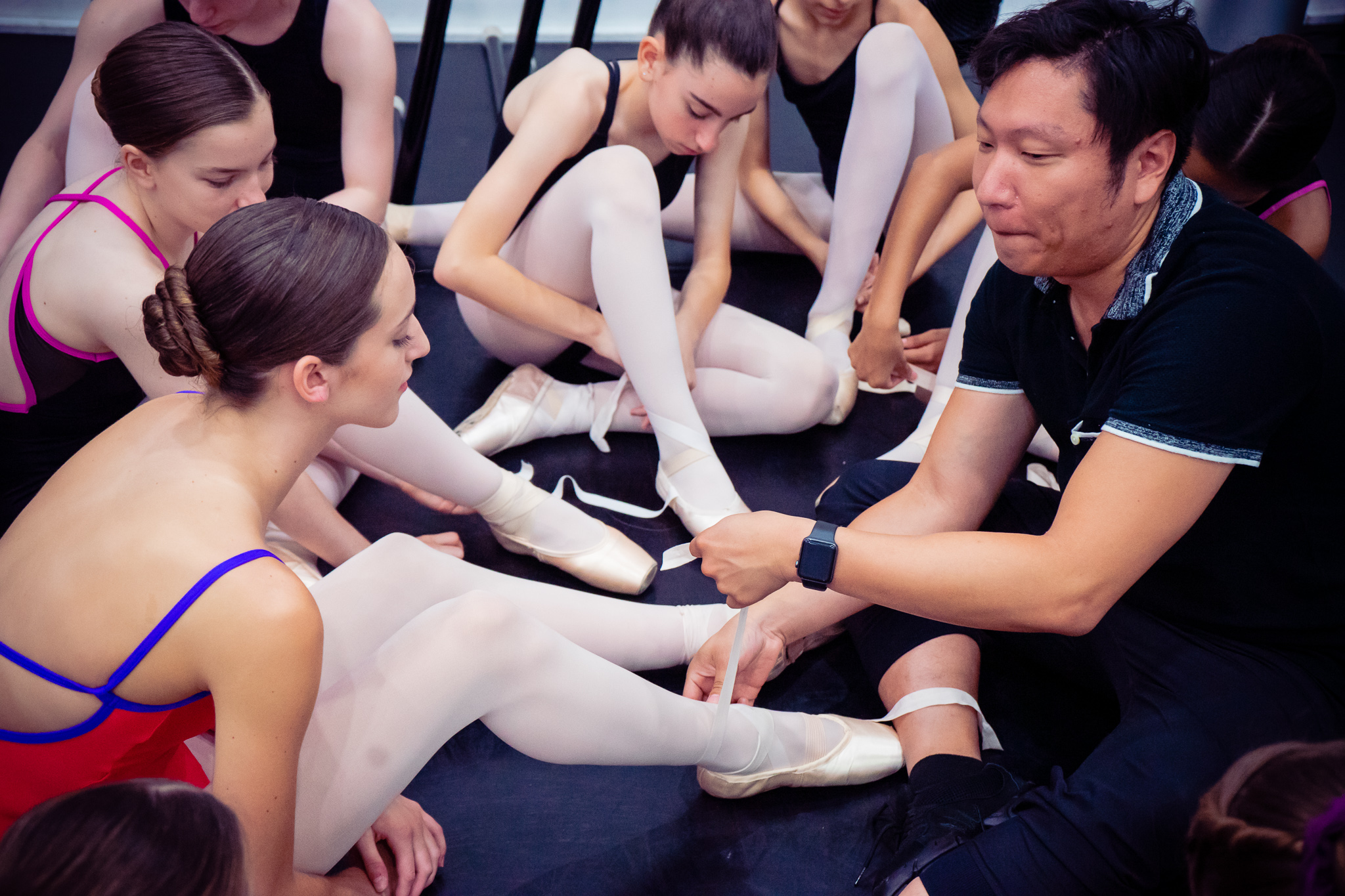 The Guide to Tying Pointe Shoes