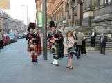 Token bagpipers...