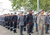 A cerimônia de formação dos bombeiros foi neste domingo (25), em Campo Bom