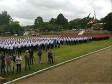 São 1300 novos alunos-soldados, sendo 1040 para o policiamento ostensivo e 260 para as atividades de bombeiro militar.