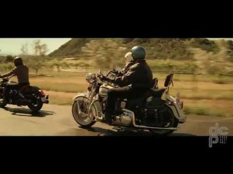 Geico Motorcycle Road Paint Ad