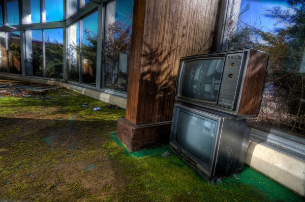 Discarded TV's at the Tamarack Lodge (2011) - Photo Credit: Andy Milford