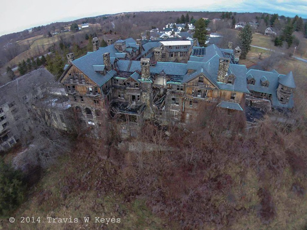 Bennett College by Drone