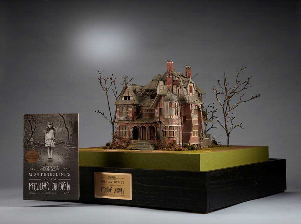 Model of Miss Peregrine's Home. Photo: Michael DelPriori