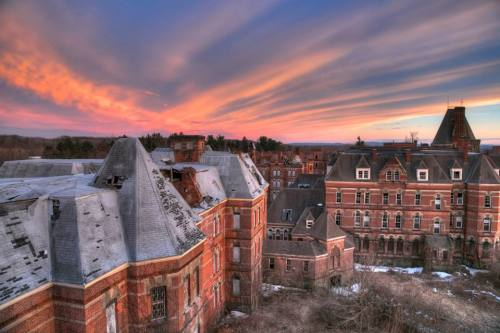 Sunset, Hudson River State Hospital Photo by Jon Stevens