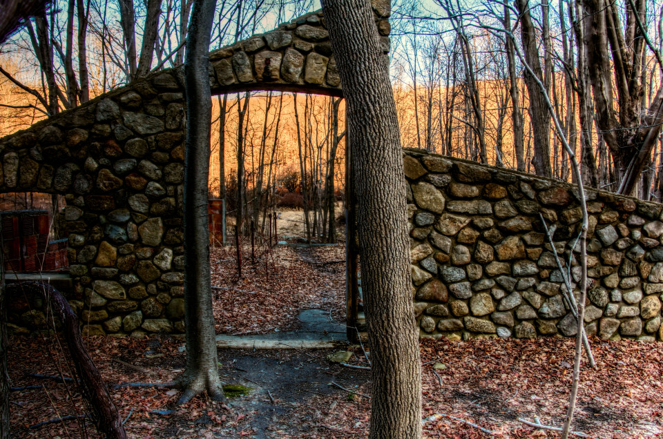 Ruins of the Cornish Estate Photo by Janice E. Pospisil