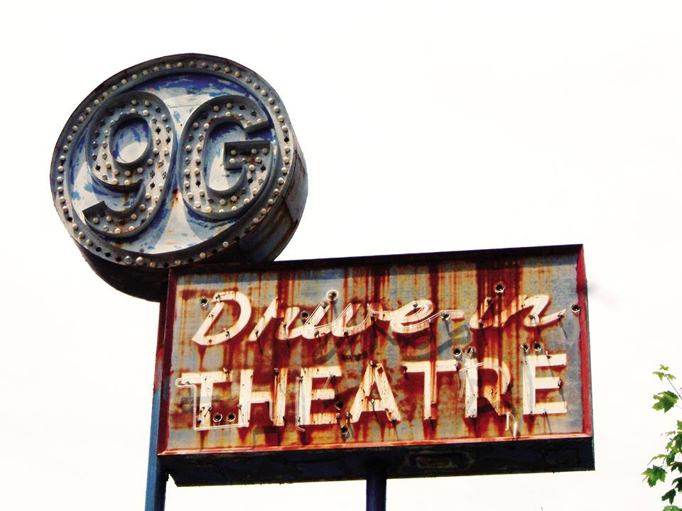 "Located in Hyde Park, the 9G Drive In operated from 1964 through 1985. In its short life it went from showing mainstream movies to offering more ""adult"" fare in an effort to attract viewers. Photo by Andy Milford"