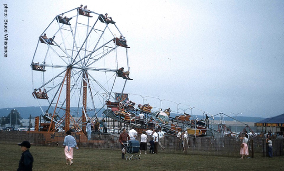 IBM Family Day, 1958 Photo by Bruce Whistance