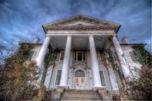 Abandoned Virginia Plantation Mansion