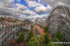 Nara Dreamland 2 HDR - Aska Rollercoaster