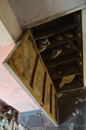 Abandoned Shoe Rack