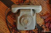 Abandoned Grey Phone