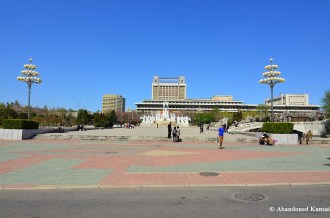 Mansudae Fountain