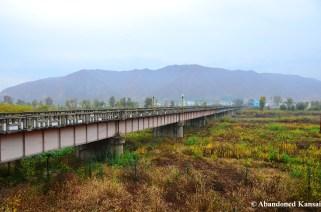 Border Crossing Between Tumen (China) and Namyang (North Korea)