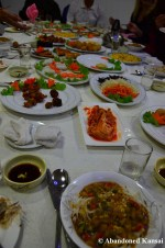 First Dinner In Rason