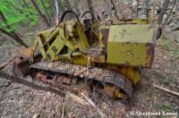Abandoned Bulldozer