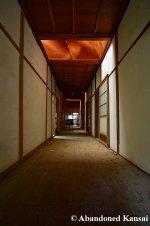 Japanese House With Skylight Lit Hallway