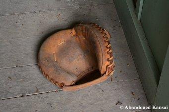 Abandoned Baseball Glove