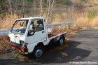Abandoned Japanese Mini Truck