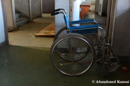 Abandoned Wheelchair At A Japanese Hospital