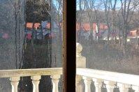 Western Village Through A Window