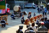 Taiko Drummers At A Traditional Japanese Festival