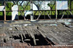 Partly Collapsed Wooden Roof