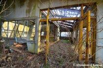 Abandoned Ropeway Station Entrance