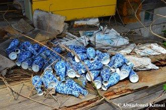 Abandoned Sake Bottles